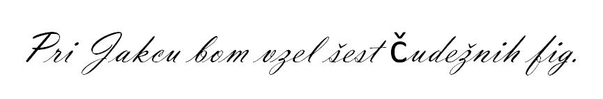Font z napako